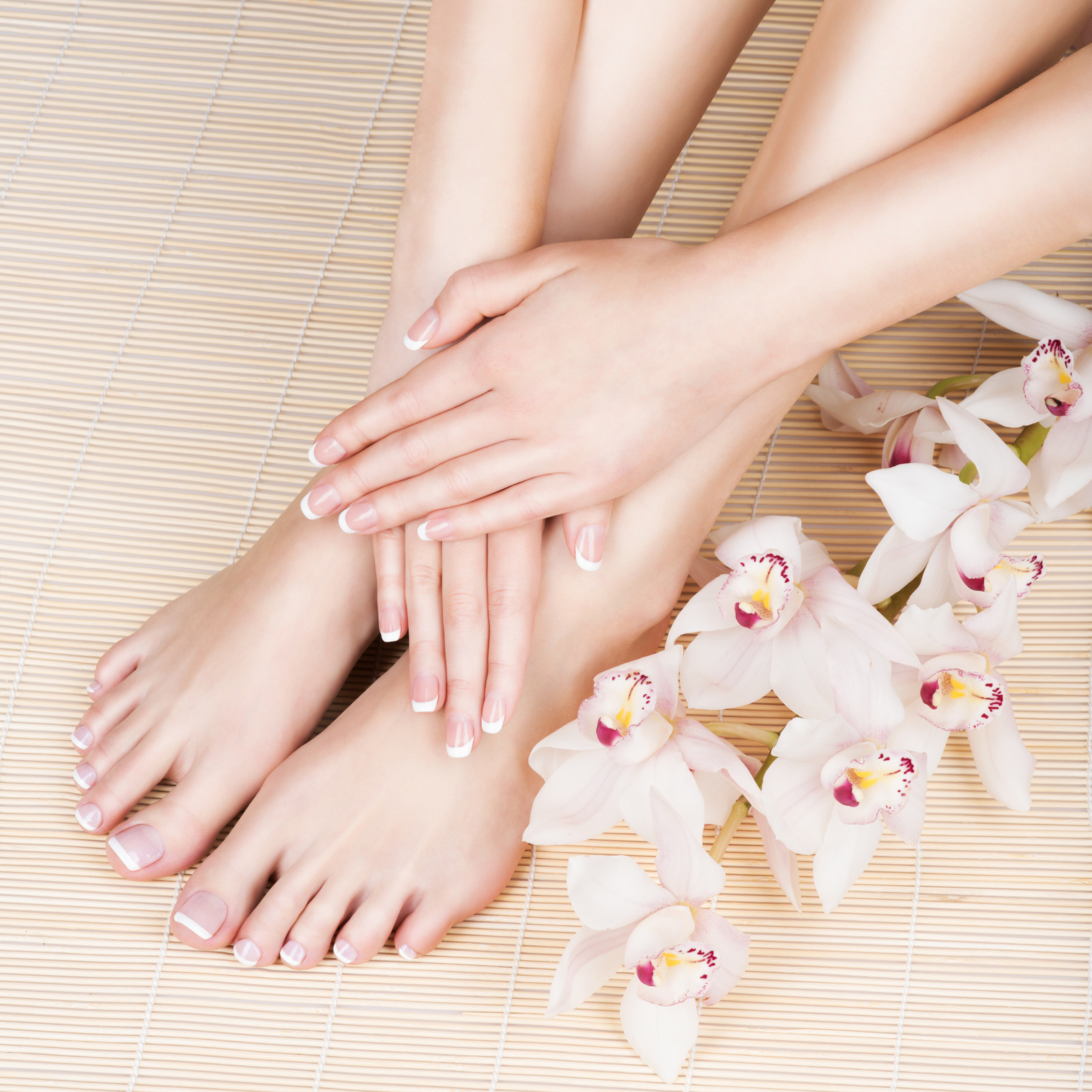 Our Nail Salon offers special pedicure with healing treatments