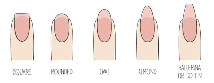 Nail Shape to go with your SNS nails